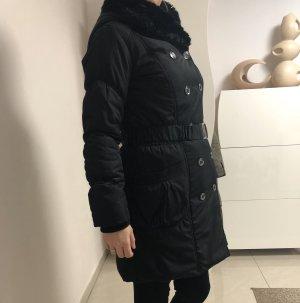 Yessica Cappotto in eco pelliccia nero