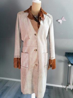 style woman Coat Dress brown-oatmeal