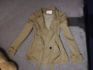 Only Robe manteau marron clair-beige