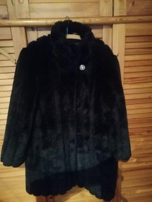 Authentic Manteau de fourrure noir