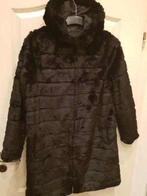 Amisu Coat Dress black-anthracite
