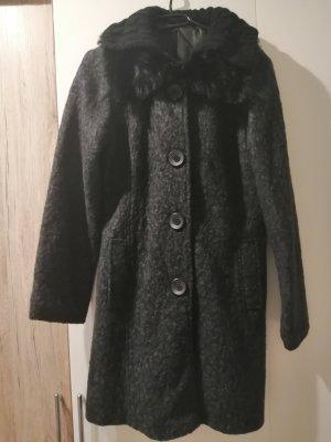 Oversized jas zwart
