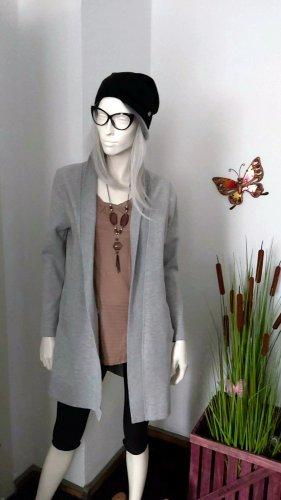 "Damen Mantel Jacke ""Multiblu"" Gr L grau"