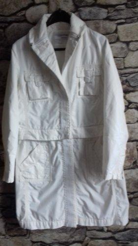 Heine Trenchcoat blanc nylon