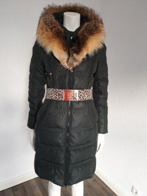 Damen Mantel mit Fuchs Kragen