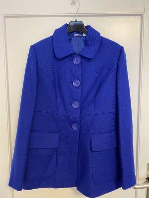 Quelle Marynarski płaszcz niebieski