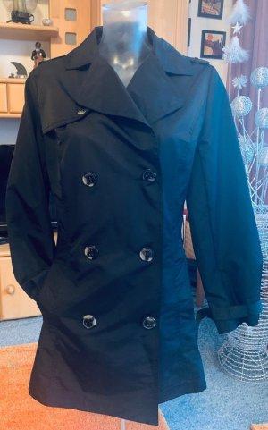 Damen Mantel Übergangsjacke Gr.36 in edel Schwarz