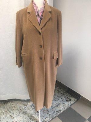 Damen Mantel -Woll/Angoramix- camelfarben Gr XL-Oversize