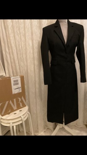 Zara Coat Dress black