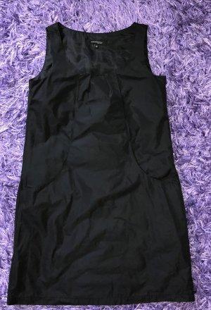 Damen Mini Kleid Mark Adam New York Größe 32 (eher 34/36) Schwarz glänzend