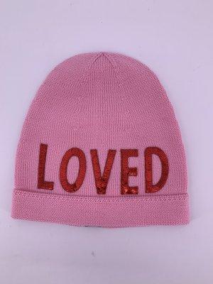Gucci Chapeau en tricot rose