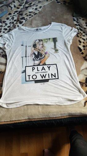 Tally Weijl T-Shirt natural white