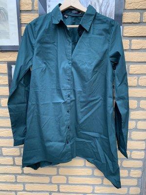 bpc Koszulowa bluzka ciemnozielony