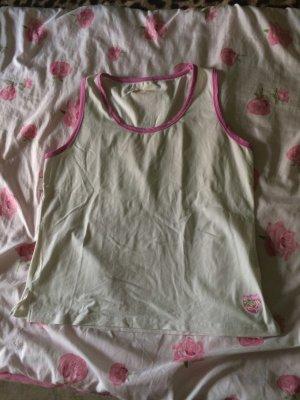 TCM Muscle Shirt white-pink