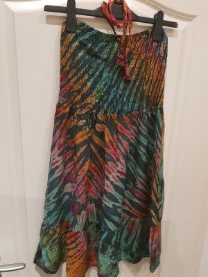 Culture Off-The-Shoulder Dress multicolored