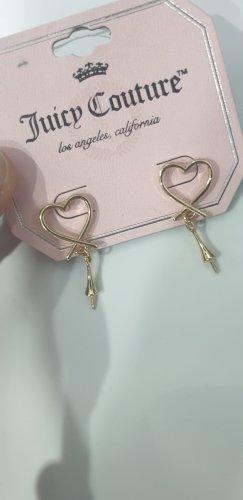 Juicy Couture Boucle d'oreille incrustée de pierres doré