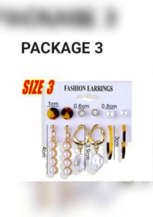 & other stories Gold Earring white-gold-colored
