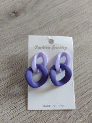 Sheinside Orecchino a pendente viola-lilla