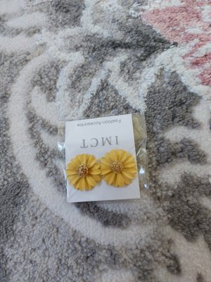 unbekannte Orecchino a vite oro-sabbia