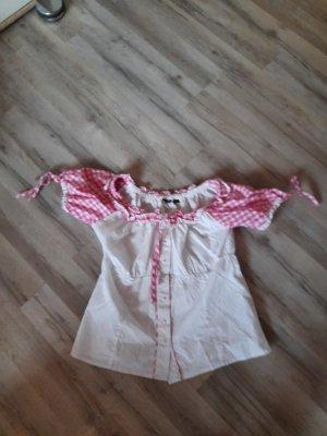 Esmara Ruffled Blouse white-pink