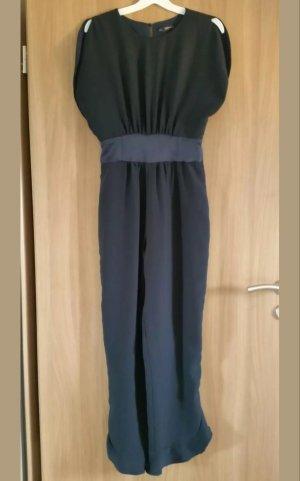 Zara Combinaison bleu foncé