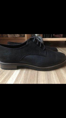 Deichmann Oxfords black-bronze-colored