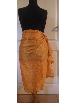 Wraparound Skirt multicolored acetate