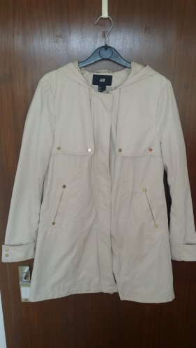 Damen Parka Übergangsjacke in beige Gr.34 von H&M