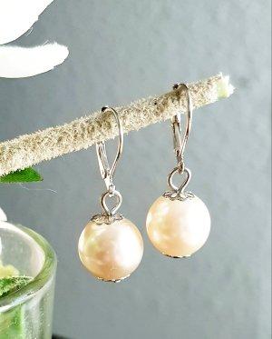 Damen Perl Ohrringe,  1 Paar, handgefertigt