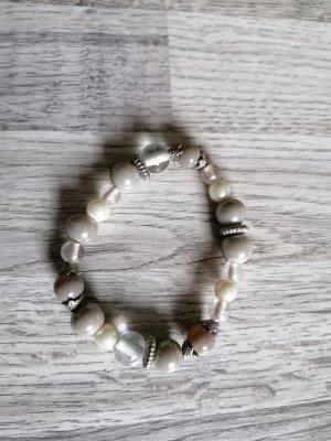 Damen Perlen Armkette