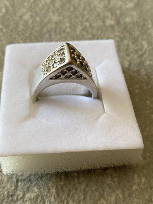 Pierre Lang Zdobiony pierścionek srebrny