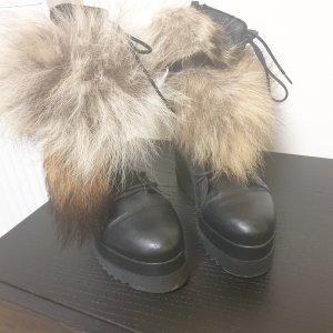 Unique Winter Booties black