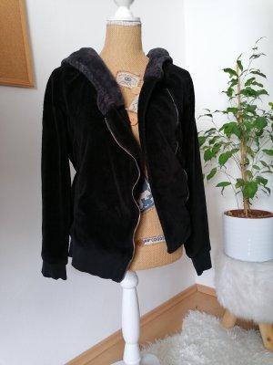 eight 2 nine Chaqueta con capucha negro-gris