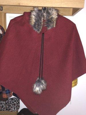 0039 Italy Hooded Coat carmine