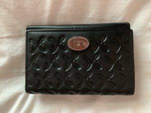 Damen Portemonnaie von Fiorelli echt Leder schwarz neu