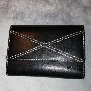 Damen Portmonee * Geldbörse von ESPRIT; NEU, schwarz, 10x15x3