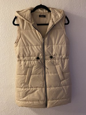 0039 Italy Hooded Vest beige