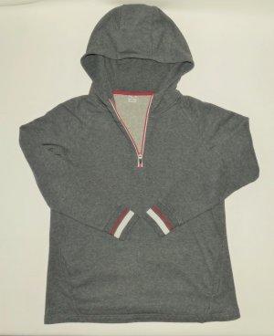Active Touch Jersey con capucha gris-rojo oscuro Algodón