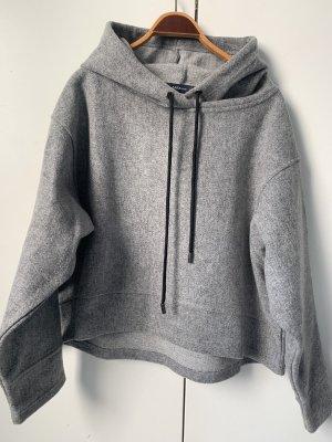 Zara Veste à capuche gris