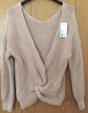 Damen Pulli v. Italy Moda -rosa- Gr. ca. 40 /Neu/Etikett