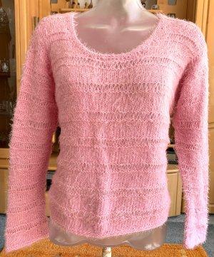 Handmade Crewneck Sweater light pink