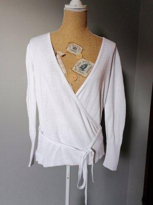 BC V-Neck Sweater white