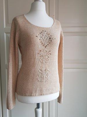 Damen Pullover Beige Größe S von CPM Collection