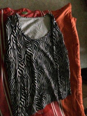 Esmara Kimono Sweater white-black