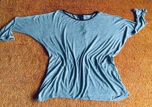 Damen Pullover Fledermausärmeln Gr.40 in Grau von Janina