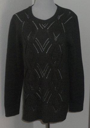 Charles Vögele Maglione lavorato a maglia grigio Acrilico