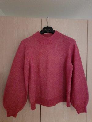Selected Femme Kraagloze sweater roze-roze Gemengd weefsel
