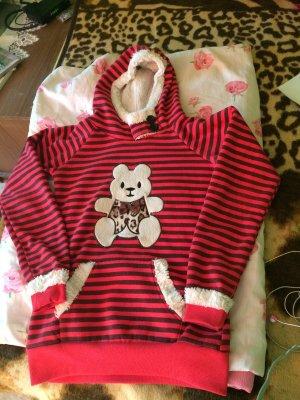 Sweter z kapturem Wielokolorowy