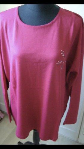 QVC Sweter oversize malina