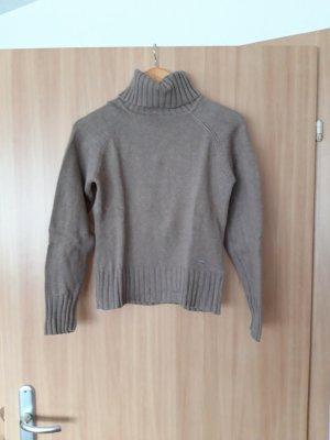 Damen Pullover Rollkragenpullover beige Yessica Größe S